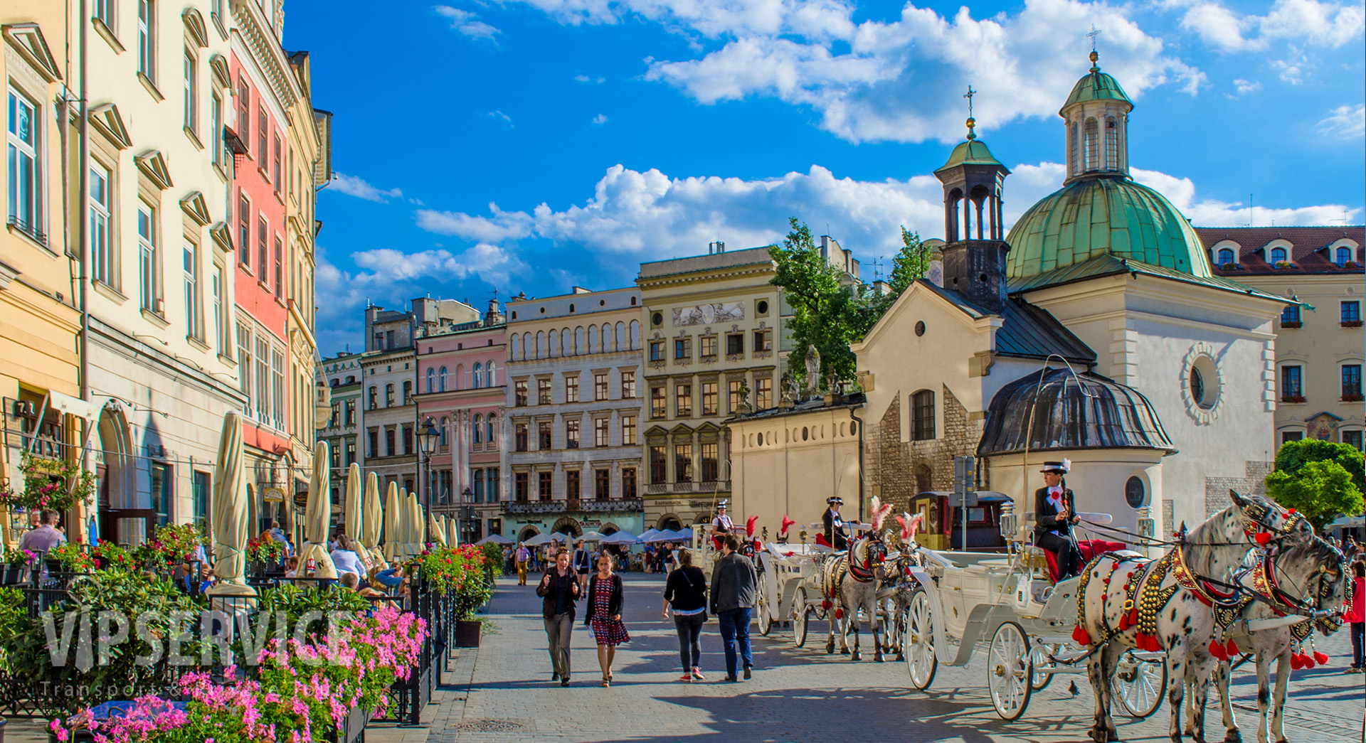 Krakow, Main Square / Kraków, Rynek Główny