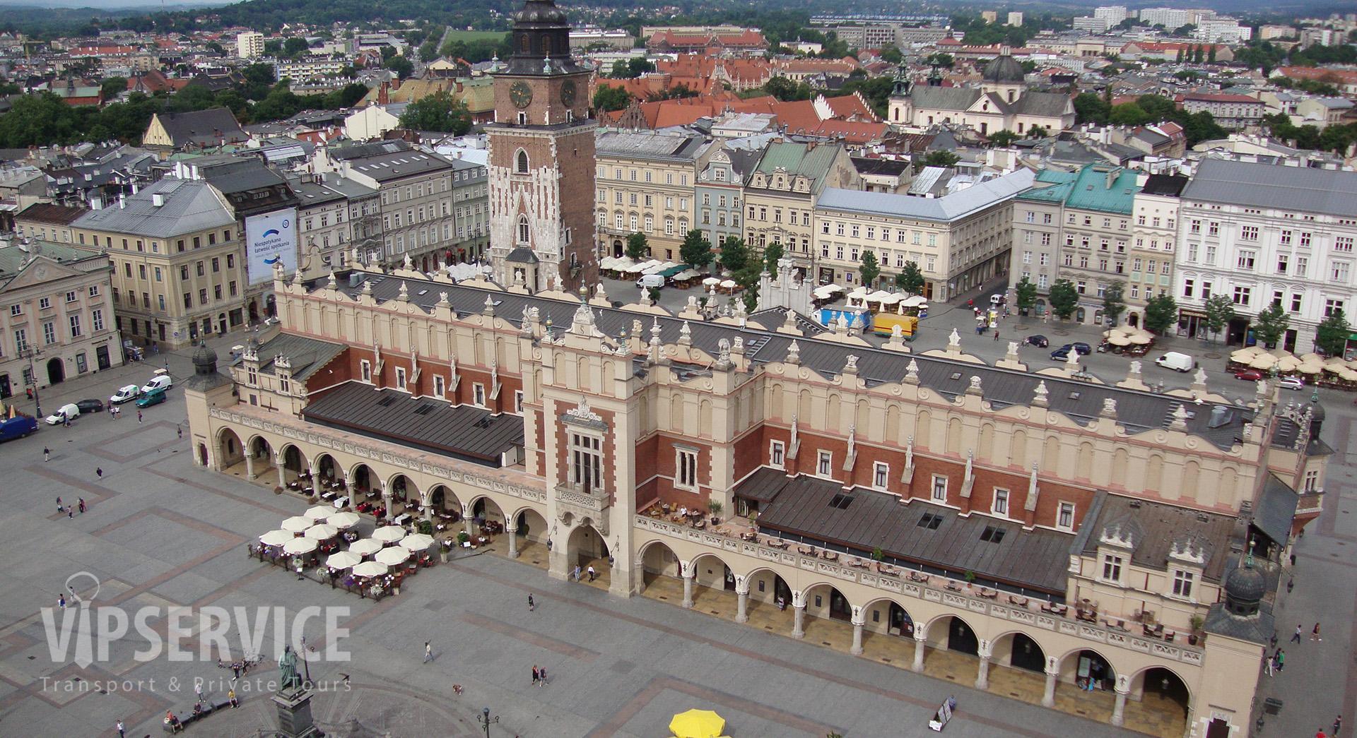 Krakow, Cloth Hall / Kraków, Sukiennice