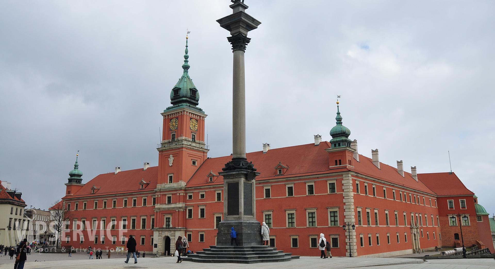 Warsaw, Castle Square / Warszawa, plac Zamkowy